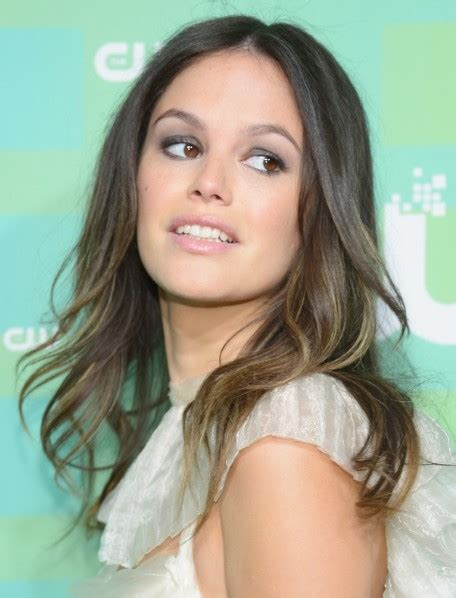 thin hair with ombre rachel bilson ombre straight hairstyles for fine hair