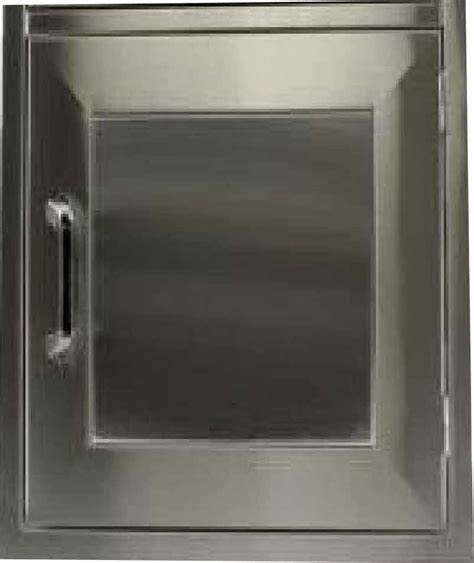 Stainless Steel Bbq Doors by Pcm Bbq Island Access Door 24 X 17 Vertical Stainless