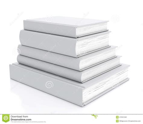 templates for photo books mock up pile of blank books isolated on white background