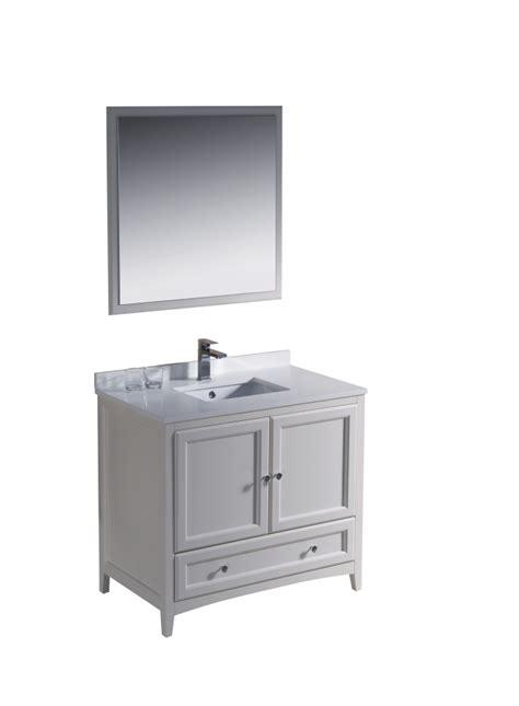 36 antique white bathroom vanity 36 inch single sink bathroom vanity in antique white