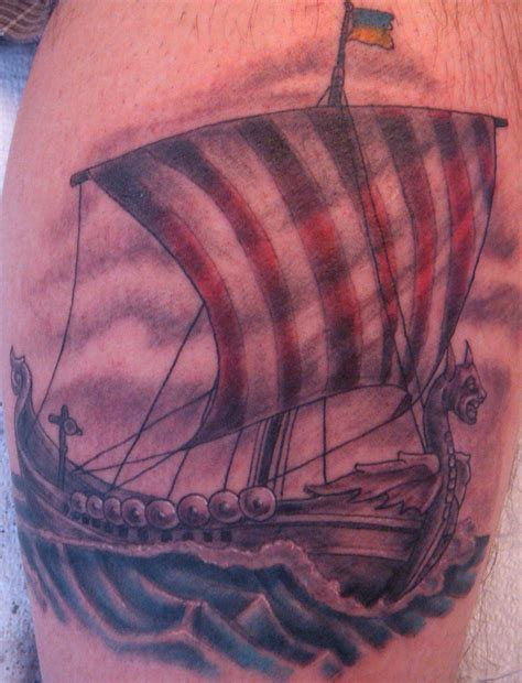 viking ship tattoo viking tattoos designs ideas and meaning tattoos for you