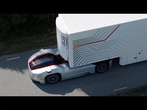volvo trucks reveals vera self driving electric semi concept