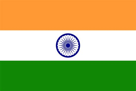 indian colors flag of india