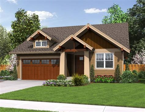 house plans comely town floor plan craftsman style prairie single story bungalow homes