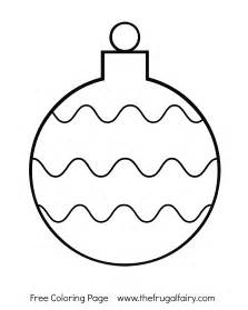 ornament coloring page printable tree ornaments coloring pages