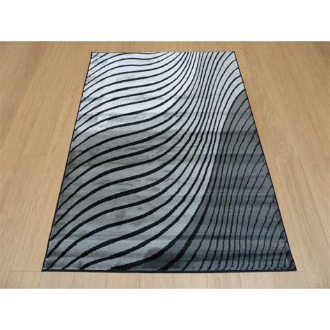 ripple rug grey black sincerity modern ripple rug carpet runners uk