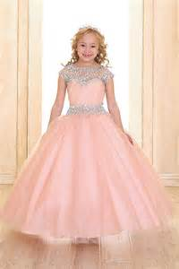 blush colored flower dresses blush flower dresses
