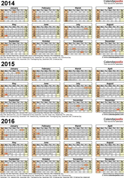 printable calendar 2015 through 2016 two year calendar 2015 and 2016 search results