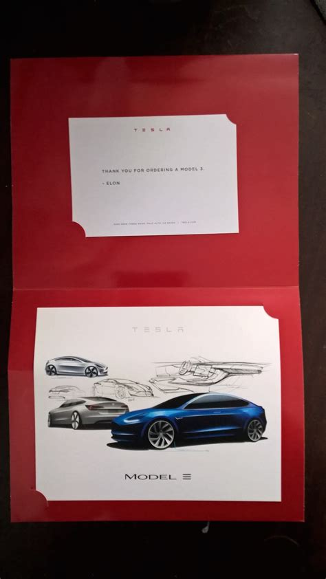 Tesla Gifts Tesla Sends Model 3 Quot Token Of Appreciation Quot Gift To Early