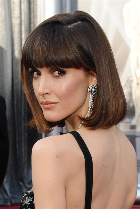 Hairstyles For Thick Hair by Lob Haircuts For Thick Hair With Bangs Haircuts Models Ideas
