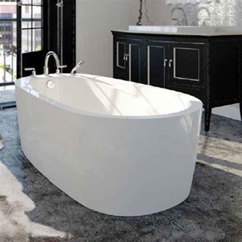 standing water in bathtub neptune vapora bathub series freestanding drop in