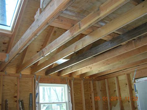 reinforce  ceiling joists  handle heavy loads
