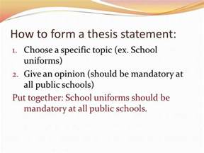 Should School Be All Year Essay by Thesis Statements No Thesis No Essay Ppt