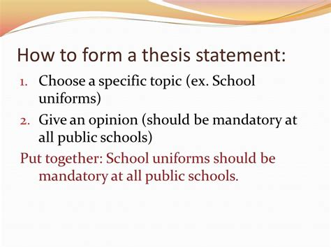 How To Make A Thesis Statement For A Research Paper - thesis statements no thesis no essay ppt