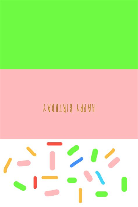 Popsicle Card Template by Diy Birthday Popsicle Card