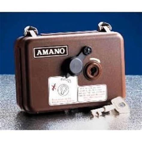 Mesin Amano Security jual mesin absen untuk satpam amano patrol pr 600 harga