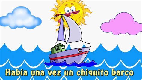 imagenes de barcos para niños quot un barco chiquitito quot canciones y videos infantiles para