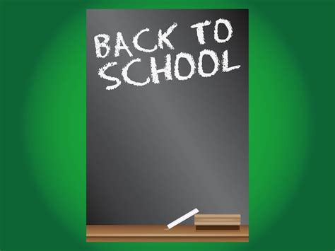 Back To School Poster Template back to school poster