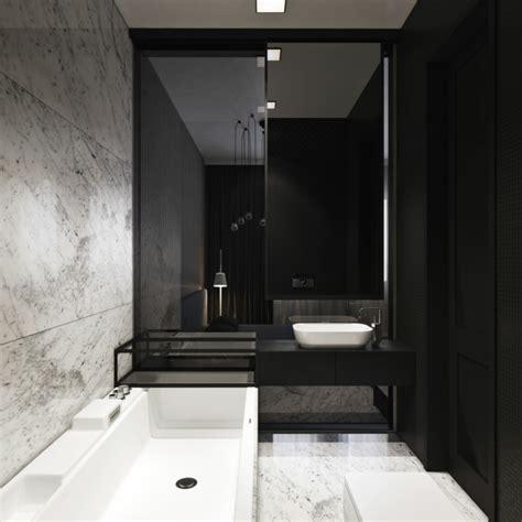 schwarzes badezimmer badgestaltung in schwarz wei 223 15 kontrastreiche bad ideen