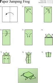 Jumping Frog Money Origami Frogs - 1000 images about thema springen on
