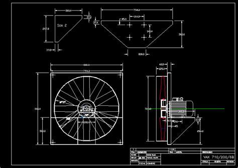 axial fan dwg block  autocad designs cad