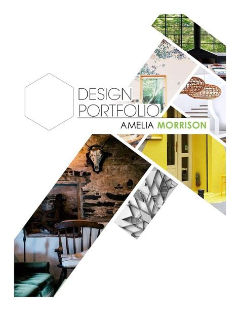 Interior Design Portfolio Page Layout Ideas | interior design portfolio cover page best 25 interior