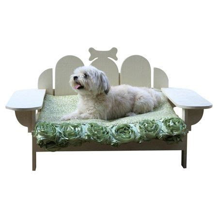 outdoor pet bed bridgeport outdoor pet bed in white pets pinterest
