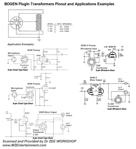 bogen tranformer wiring diagram bogen s86t725 wiring