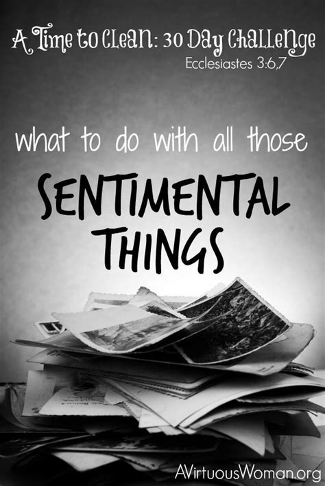 decluttering sentimental items what to do with all those sentimental things