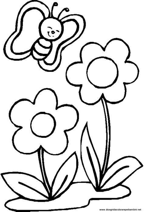 disegni di piante e fiori immagini da colorare fiori