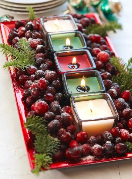 christmas center table decorations 50 easy centerpiece ideas midwest living