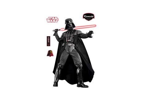 darth vader wall sticker darth vader wall decal shop fathead 174 for wars