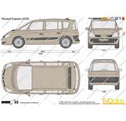 The Blueprintscom  Vector Drawing Renault Espace