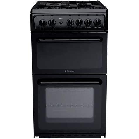 Oven Gas 1 Pintu hotpoint newstyle hag51k cooker black hotpoint uk