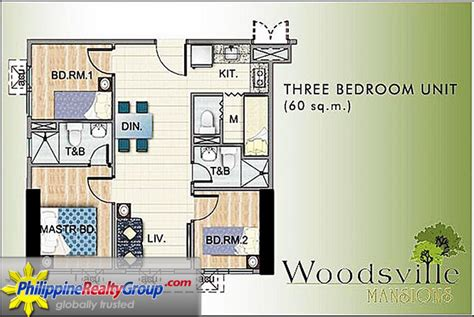 schlafzimmer 60er woodsville viverde mansions paranaque metro manila