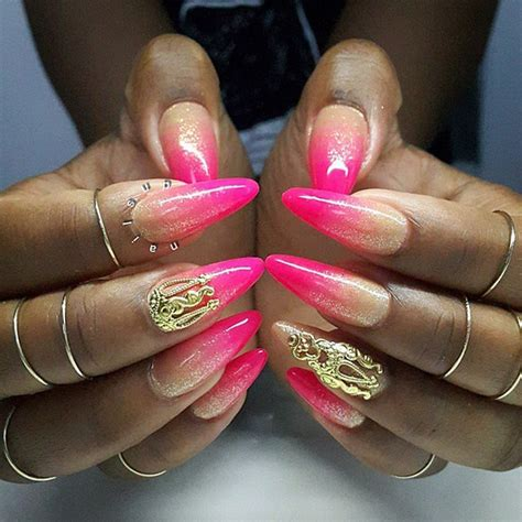 Nail Accessories by Nail Accessories Nail Gold Nails Pink