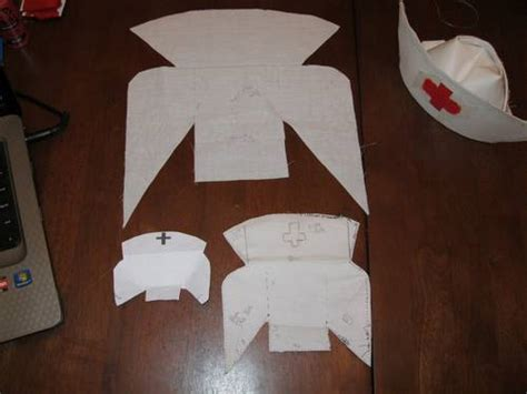 How To Make A Nurses Hat Out Of Paper - best photos of hats costume