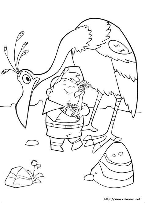 imagenes de rosell up dibujos para colorear de up una aventura de altura
