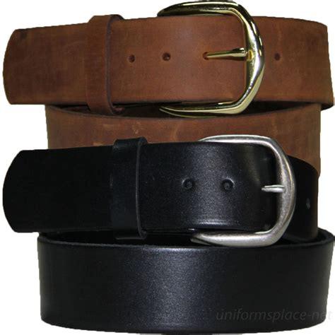 mens leather belt 1 3 4 quot casual work belts 411 plain
