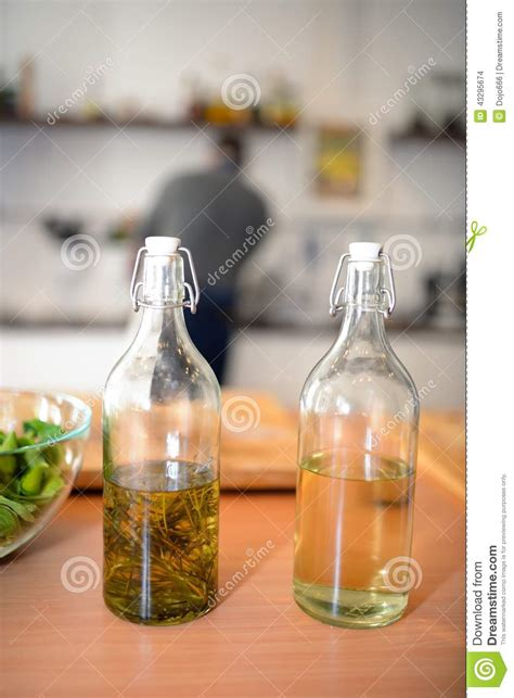 Glass Bottle Table L by Glass Bottle On A Table Stock Photo Image 43295674