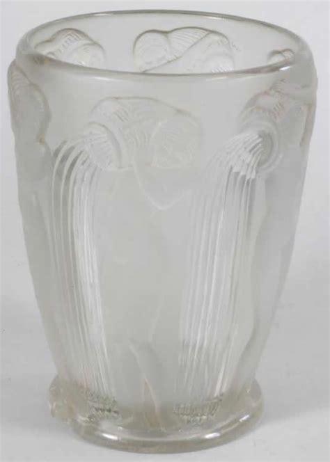 Rene Lalique Vases by Rene Lalique Danaides Vase Rlalique