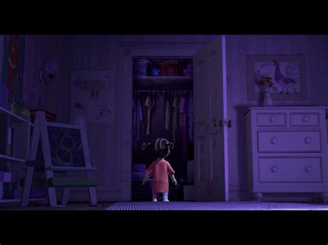 Monsters Inc Closet by Top 5 Saddest Moments Amino