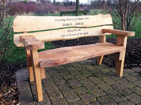 customized memorial benches custom memorial garden bench garden ftempo
