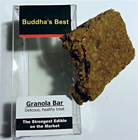 best granola bars buddha s best granola bar edible review