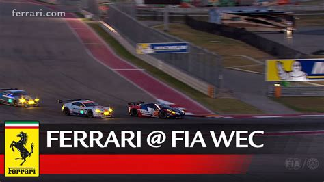Ferrari World Working Hours by Wec All The Emotions From The 6 Hours Of Cota Youtube