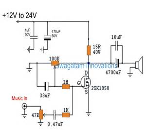 single transistor headphone lifier the post discusses a simple cheap single mosfet class a power lifier circuit which can be