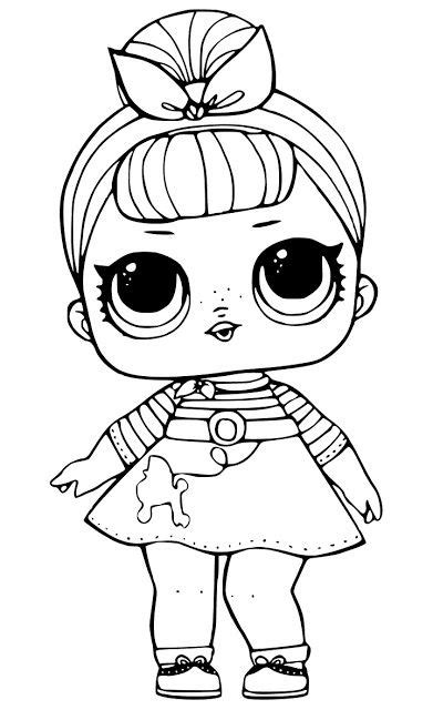 desenhos  colorir boneca lol imprimir desenhos