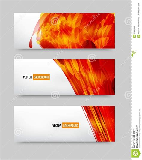 photography banner template vector flower set banner brochure template royalty free stock photography image 33396227