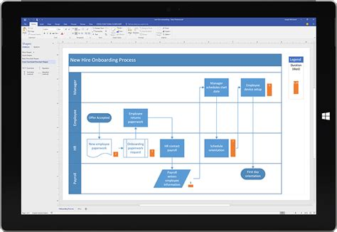 visio business process modeling solutions microsoft office