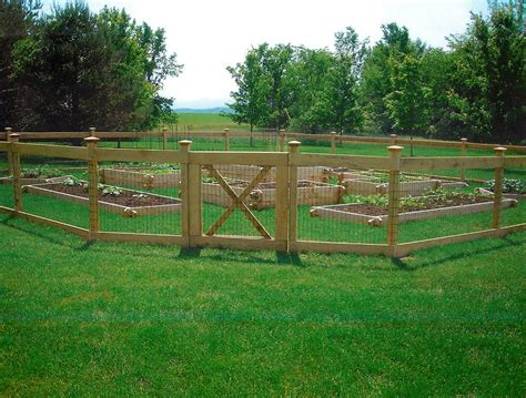 Cheap Garden Fencing Ideas Fence Garden Ideas Cheap Onfencedesign Us
